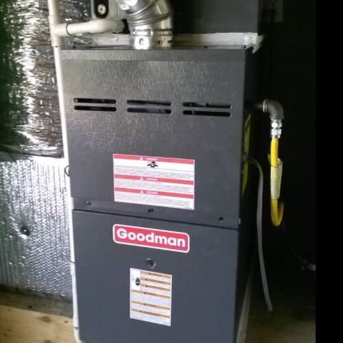 A Newly Installed Heater